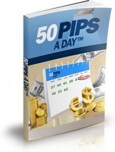 Ebook cover: 50 Pips A Day