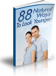 Ebook cover: 88 Natural Ways To Look Younger