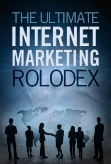 Ebook cover: The Ultimate Internet Marketing Rolodex