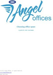 Ebook cover: Choosing office space: a guide
