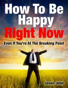 Ebook cover: How To Be Happy Right Now!