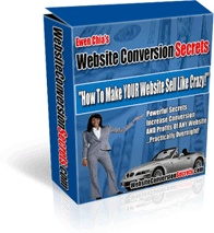 Ebook cover: Website Conversion Secrets