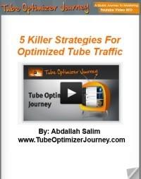 Ebook cover: 5 Ninja Strategies To Leverage Video Traffic