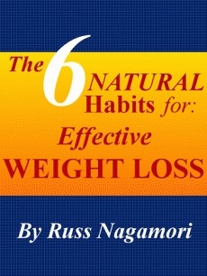Ebook cover: The 6 Natural Habits for Effective Weight Loss