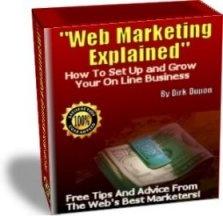 Ebook cover: Web Marketing Explained