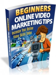 Ebook cover: Video Marketing Tips for Beginners