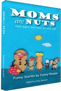 Ebook cover: Moms are Nuts