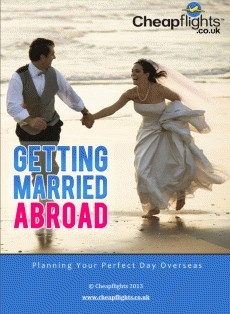 Ebook cover: Wedding Abroad guide
