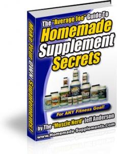 Ebook cover: Homemade Supplement Secrets