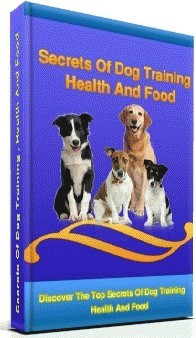 Ebook cover: Secrets Of Dog Training , Health and Food