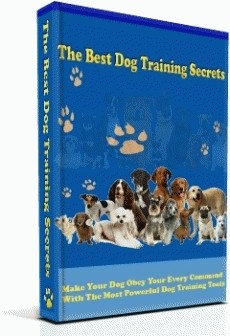 Ebook cover: The Best Dog Training Secrets