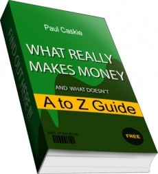 Ebook cover: What Really Makes Money A to Z Guide