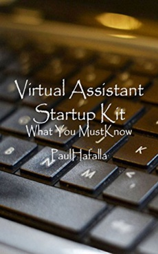 Ebook cover: Virtual Assistant Startup Kit - what you must know