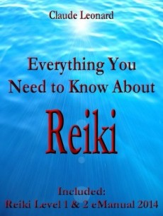 Ebook cover: free Reiki Level 1 and 2 eManual