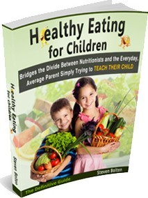 Ebook cover: Healthy Eating For Children