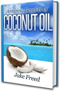 Ebook cover: Amazing Benefits of Coconut Oil