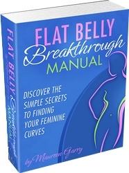 Ebook cover: Flat Belly Breakthrough