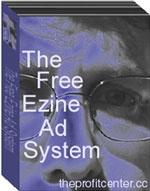 Ebook cover: The Free eZine Ad System