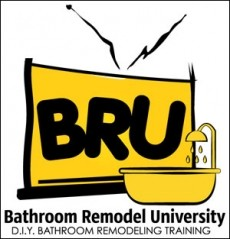 Ebook cover: The Bathroom Remodeling University