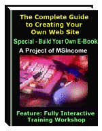 Ebook cover: The Complete Guide to Building Your Own Web Site
