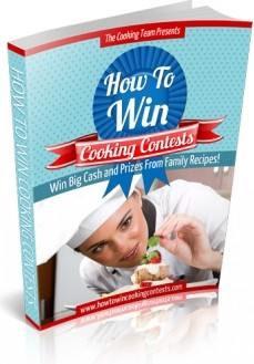 Ebook cover: How to Win Cooking Contests