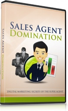 Ebook cover: Sales Agent Domination