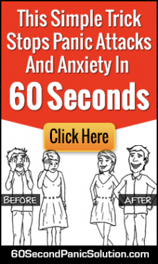 Ebook cover: 60 Second Panic Solution