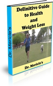 Ebook cover: Definitive Guide to Health and Weight Loss