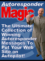 Ebook cover: AutoResponder Magic