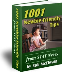 Ebook cover: 1001 Newbie-Friendly Tips