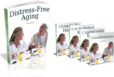 Ebook cover: Distress-Free Aging