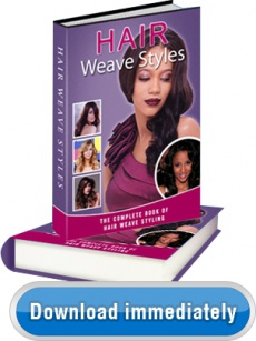 Ebook cover: Hair Weaves Styles