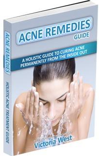 Ebook cover: Acne Remedies Guide