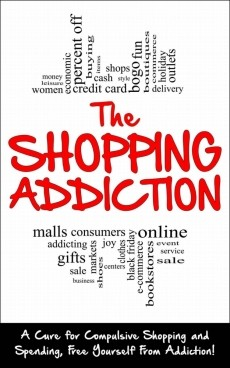 Ebook cover: The Shopping Addiction