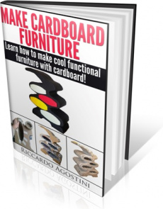 Ebook cover: Make Cardboard Furniture