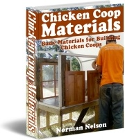 Ebook cover: Materials to Building Chicken Coop