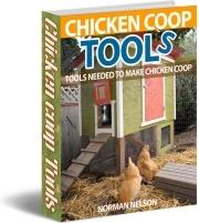 Ebook cover: Chicken Coop Tools