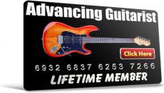 Ebook cover: The Advancing Guitarist