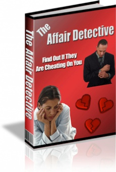 Ebook cover: The Affair Detective