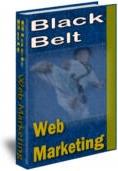 Ebook cover: Black Belt Web Marketing