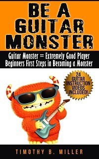 Ebook cover: Guitar Lessons for Beginners