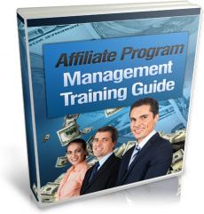 Ebook cover: Affiliate Program Management Training Guide