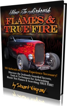 Ebook cover: How To Airbrush Flames and True Fire