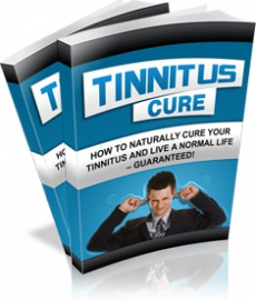 Ebook cover: Tinnitus Cure
