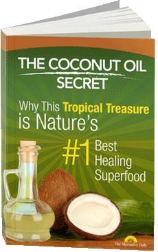 Ebook cover: Coconut Oil Secret