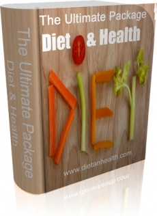 Ebook cover: The Ultimate Package - Diet & Health