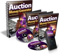 Ebook cover: Auction Money Generator