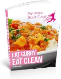 Ebook cover: Eat Curry Eat Clean