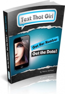 Ebook cover: Text That Girl