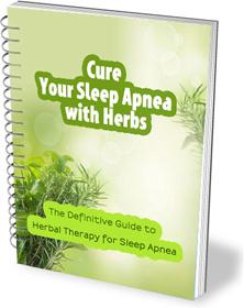 Ebook cover: Cure Your Sleep Apnea With Herbs